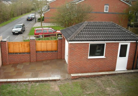 Detached Garage Chorley