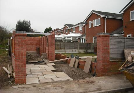 Gate posts & Driveway Chorley